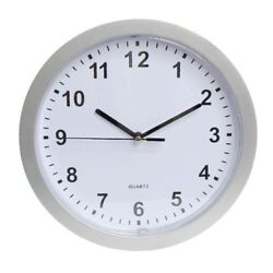 NEW Wall Clock With Hidden Safe COMPARTMENT 9 INCH HIDES VALUABLE'S wallsafe