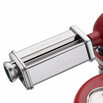 Pasta Sheet Roller Attachment KitchenAid Stand Mixer Stainless Steel Pasta Maker