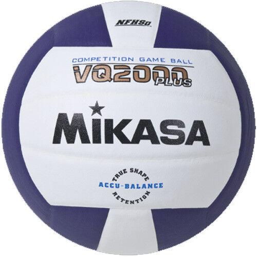 Mikasa VQ2000 Volleyball - Purple/White