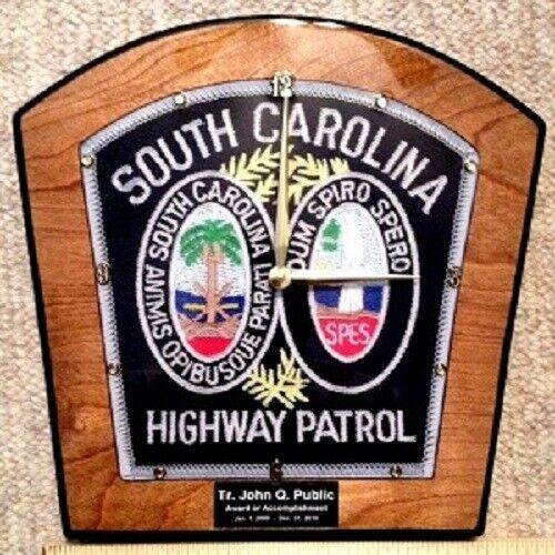 South Carolina Highway Patrol Clock