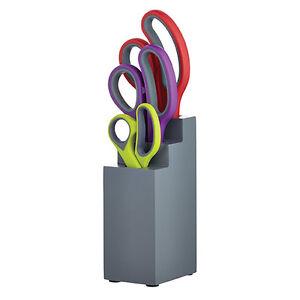 Colourworks 3 Piece Scissor Block Set