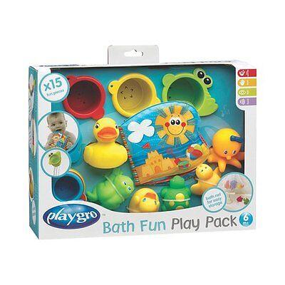 BABY-WALZ Badespielzeug Geschenkset 15-teilig Wasserspielzeug NEU mehrfarbig