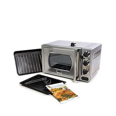 Wolfgang Puck 22 Liter Pressure Oven With Broil Rack Insert And Baking Rack