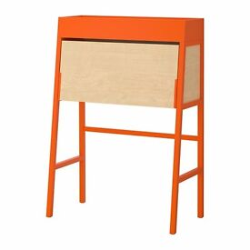 IKEA PS Bureau Orange/birch veneer