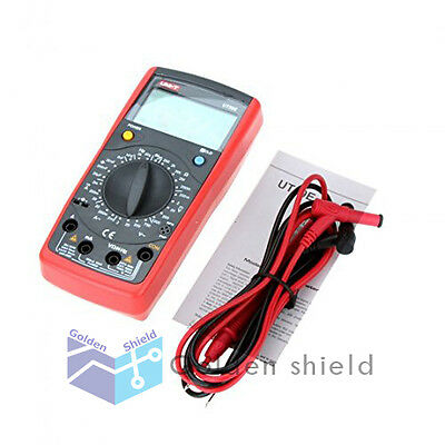 Uni-t Ut39e 19999 Count Datadmm Digital Multimeters W Frequency Tester