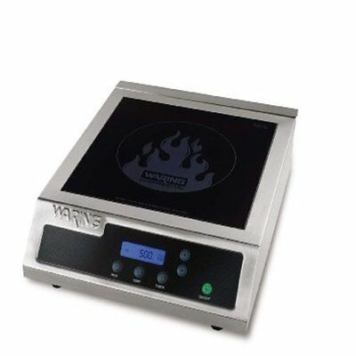 Waring Wih400 Hi-power Induction Electric Countertop Range Burner 120v 1800watts