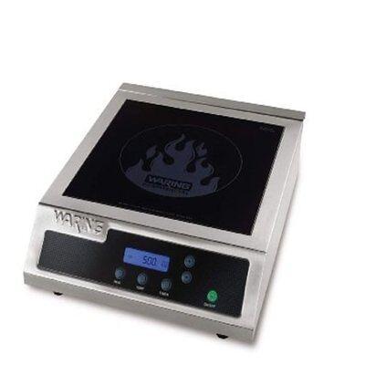Waring Wih400 Hi-power Induction Electric Countertop Range Burner 120v 1800watts