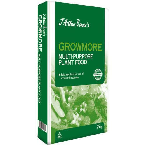 Growmore 25kg Fertiliser Soil Improvement Ebay