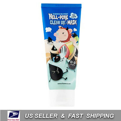 [ ELIZAVECCA ] Milky piggy Hell-Pore Clean Up Mask 100ml +NEW Fresh+ Free Sample