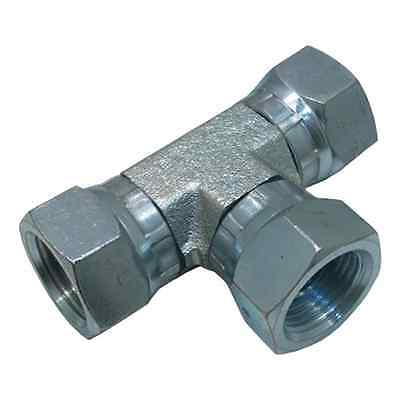 Pipe Thread Swivel (Female Pipe Swivel Union Tee  1603-04-04-04    1/4
