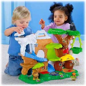 FISHER PRICE Little People ZOO TALKERS ANIMAL SOUNDS (Complete)