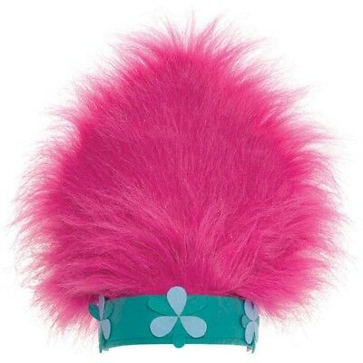Birthday Party Costume (TROLLS DELUXE POPPY HAT ~ Birthday Party Supplies Favor Costume Attire Gift)
