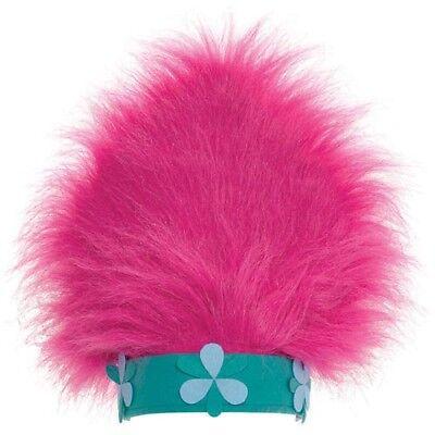 - TROLLS DELUXE POPPY HAT ~ Birthday Party Supplies Favor Costume Attire Gift Pink