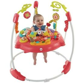 Pink fisher price jumperoo