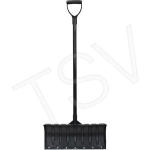 Aurora Tools Poly Snow Pusher with Steel Wear Strip