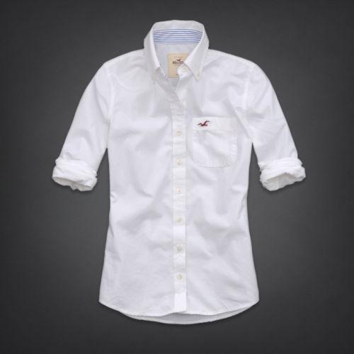 Womens White Oxford Shirt Ebay
