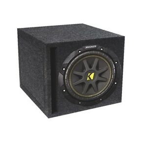 "Kicker Loaded 10"" Subwoofer (COMPD10SV) NEW in box"