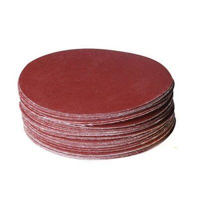 50x Schleifscheiben 150 mm Sortiment SET 1000 800 600 400 320 Exzenter Klett rot