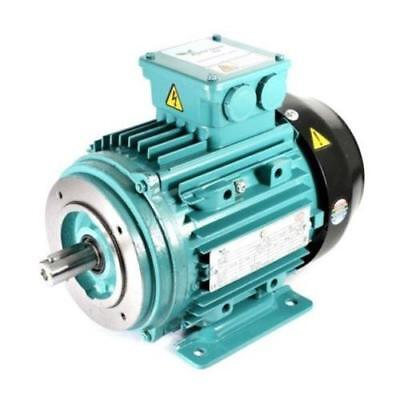 Electric Motor Al 3 Phase 7.5kw 10hp 4 Pole 1400 Rpm 132m Frame B34 Ie2
