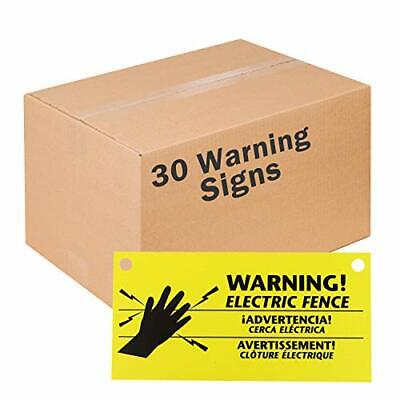 Zareba Ws3 Electric Fence Warning Signs 30 Pack 30