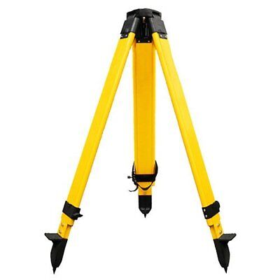 Wooden Tripod 67kg With Screw Clamp For Theodolite Total Station