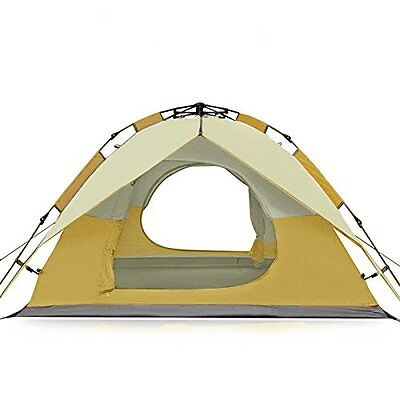 NEW! FiveJoy Instant 3 Person 3 Season Dome Tent - Double-Wall Two-Door Set Up