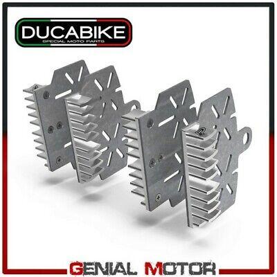 Brake Plate Heat Sink Silver BPR04G Ducabike Monster 821 Stripes 2015 > 2017
