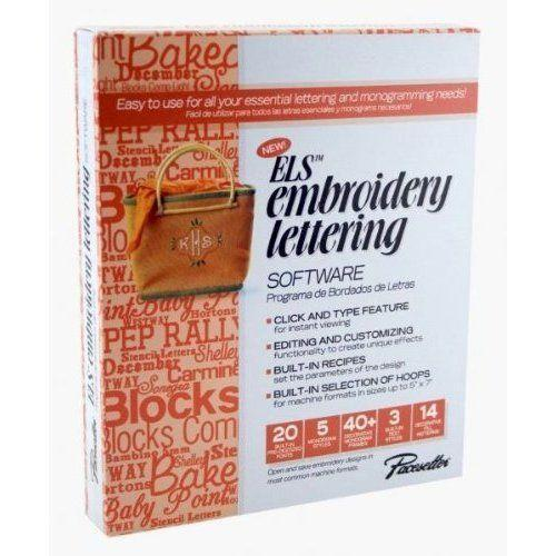 embroidery lettering software ebay