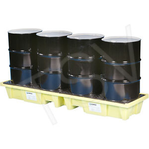 ENPAC 4-DRUM SPILL TRAY / PALLET need it gone today!