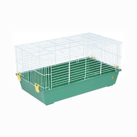 good sized rabbit cage includes a dome house