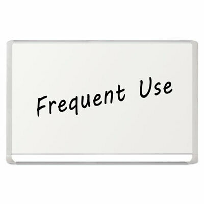 Lacquered Steel Magnetic Dry Erase Board 48 X 72 Silverwhite
