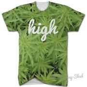 Mens Weed T Shirt
