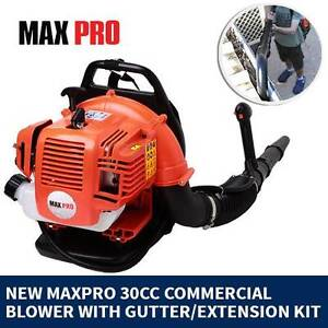 New MaxPro Commercial Backpack Blower with Gutter/Extension Kit Fairfield Fairfield Area Preview