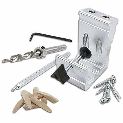 850 Heavy Duty, All-In-One Aluminum Pocket Hole Jig Kit, 76 Pocket Hole Kit