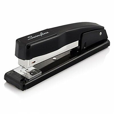 Swingline Stapler Commercial Desk Stapler 20 Sheets Capacity Black 44401