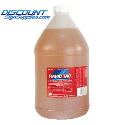 Rapid Tac Gallon - Free Shipping - Use With Vinyls And Application Tapes