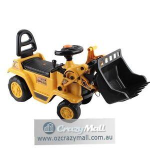 Kids Ride On Bulldozer Sand Excavator Melbourne CBD Melbourne City Preview