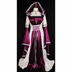 Stunning-Ladies-Medieval-Renaissance-Gown-Dress-Costume-Maid-Marion-High-Quailty