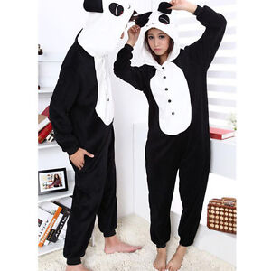 Christmas Kigurumi Pajama Costume Cosplay Pyjamas Hoodie Animal Unisex Sleepsuit