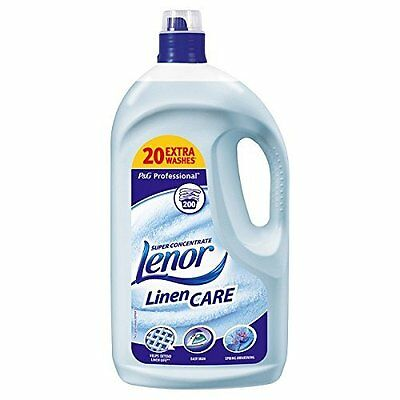 Lenor Professional Spring Super Concentrate Linen Care 1 x 4 Litre