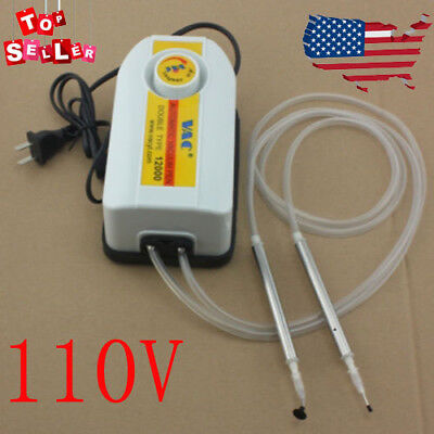 110V IC SMD BGA Chip Pick Up Tools Pump Vacuum Suction+2Pen Placement Machine for sale  Bell