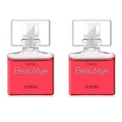 2 of Santen Beautyeye Eyedrops 12ml [Imported by ☆SAIKO JA