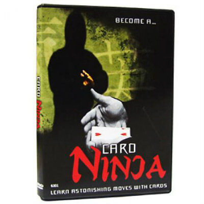 Card Ninja - Magic Tricks DVD - New