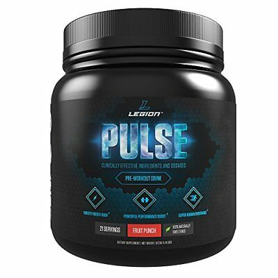 LEGION Pulse - Best Natural Pre Workout Supplement for Women
