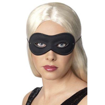 Smi - Halloween Karneval Maske Farfalla schwarze Augenmaske zum Kostüm  ()