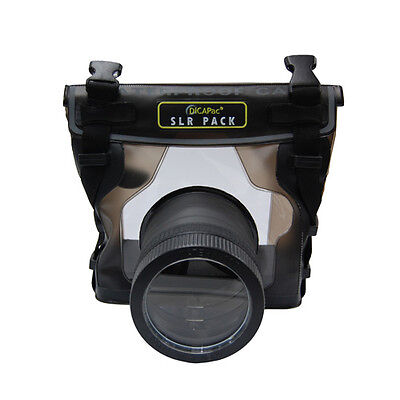 DICAPAC UNDERWATER WATERPROOF HOUSING CASE for NIKON D200 D300 D3100 D5100 D8000 for sale  Shipping to India