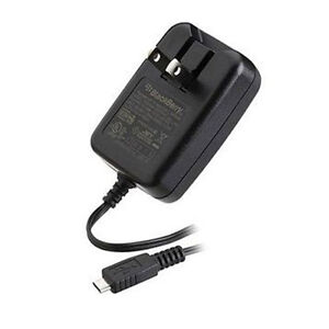 OEM Blackberry USB Micro Wall Travel Charger ASY-18078-001 for 9900 8520 9860