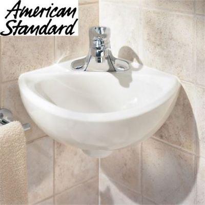 NEW AMERICAN STANDARD CORNER SINK - American Standard Corner Sink
