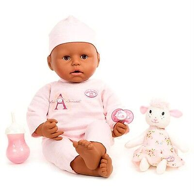 NEW Baby Annabell African American Interactive Doll Cries Tears 2009 Version 5