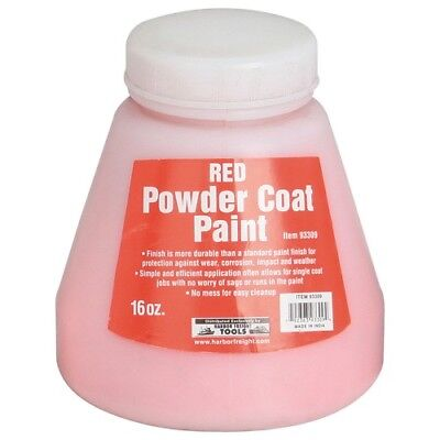 Red 16 Oz Powder Coat Paint Create A Nearly Indestructible Finish Free Ship